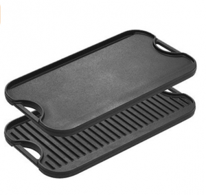 Lodge LPGI3 Cast Iron Reversible Grill/Griddle