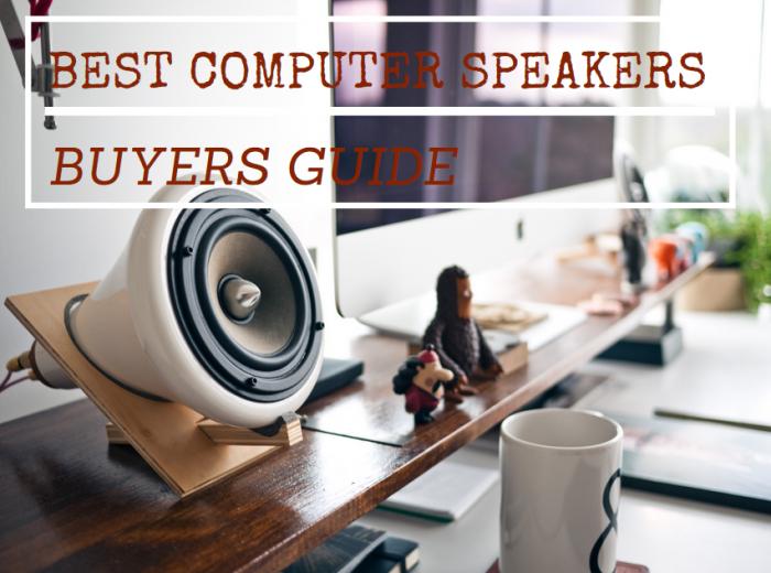 computer speakers buyer guide
