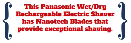 panasonic wet dry