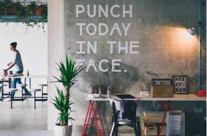 G-Razor's message of the day: Punch Today in the Face